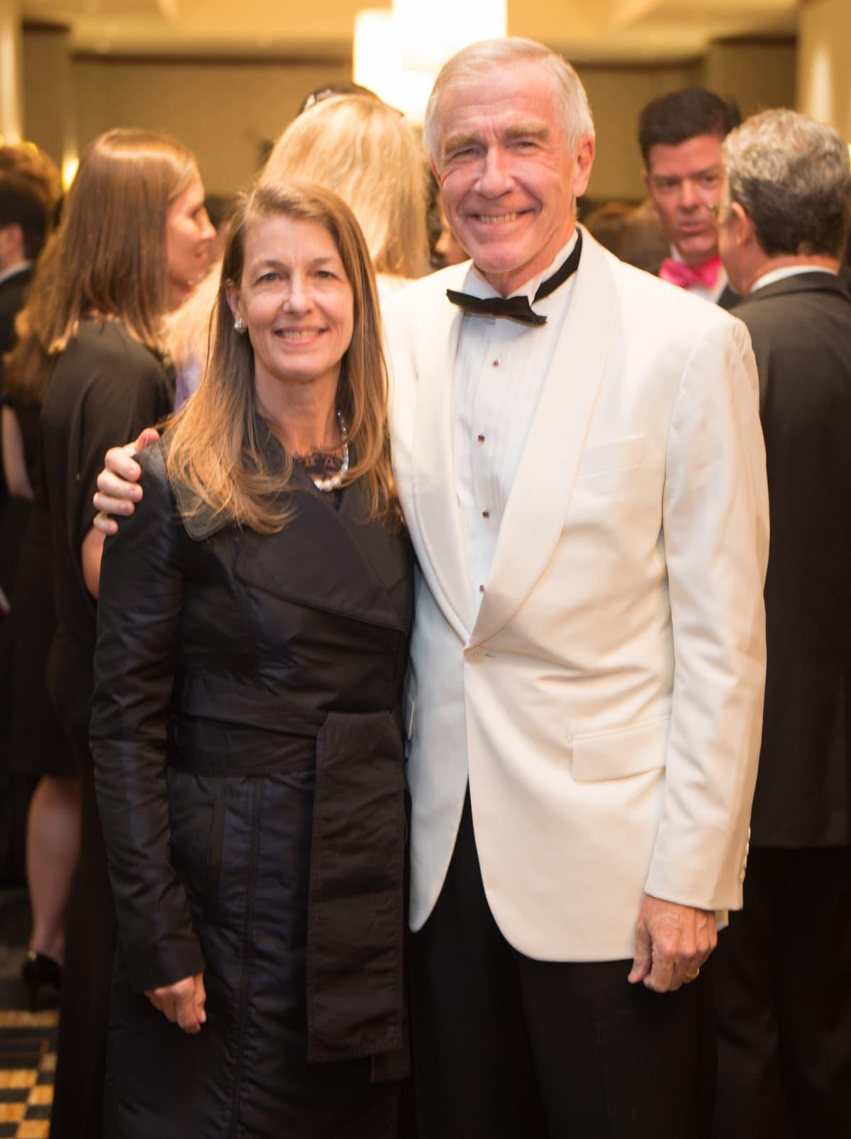 Houston, Pink Door Night of the Phoenix Gala, November 2015, Karen Twitchell, Dr. Kirk Heyne
