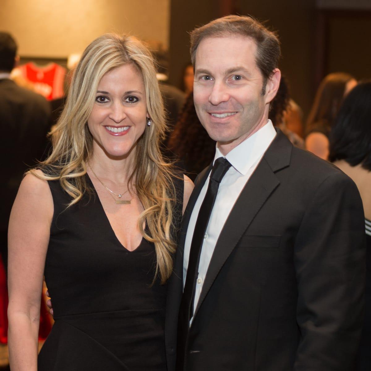 Houston, Pink Door Night of the Phoenix Gala, November 2015, Courtney Zubowski Haas, Dr. Eric Haas.