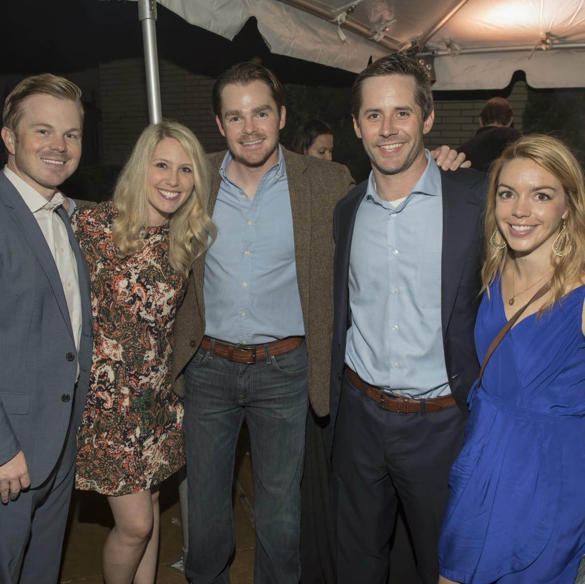Clay Pickering, Erin Pickering, Chris Baker, Austin Anderson, Kristen Huffman