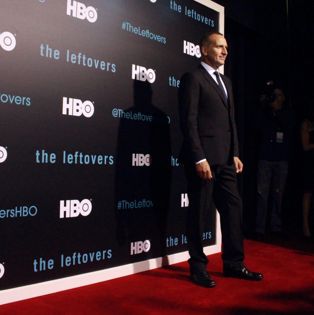 The Leftovers HBO Season 2 red carpet premiere Christopher Eccleston October 2015
