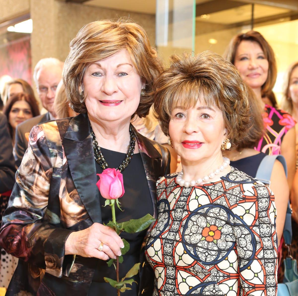 News, Shelby, Stiletto Strut, Sept. 2015 Cora Sue Mach, Barbara LeGrange