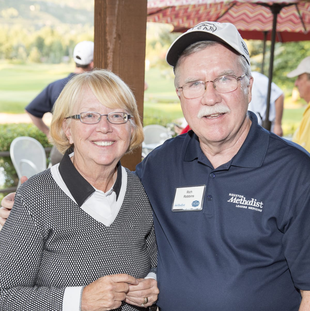 Houston Methodist in Aspen, July 2015, Anne and Dr Rich Robbins