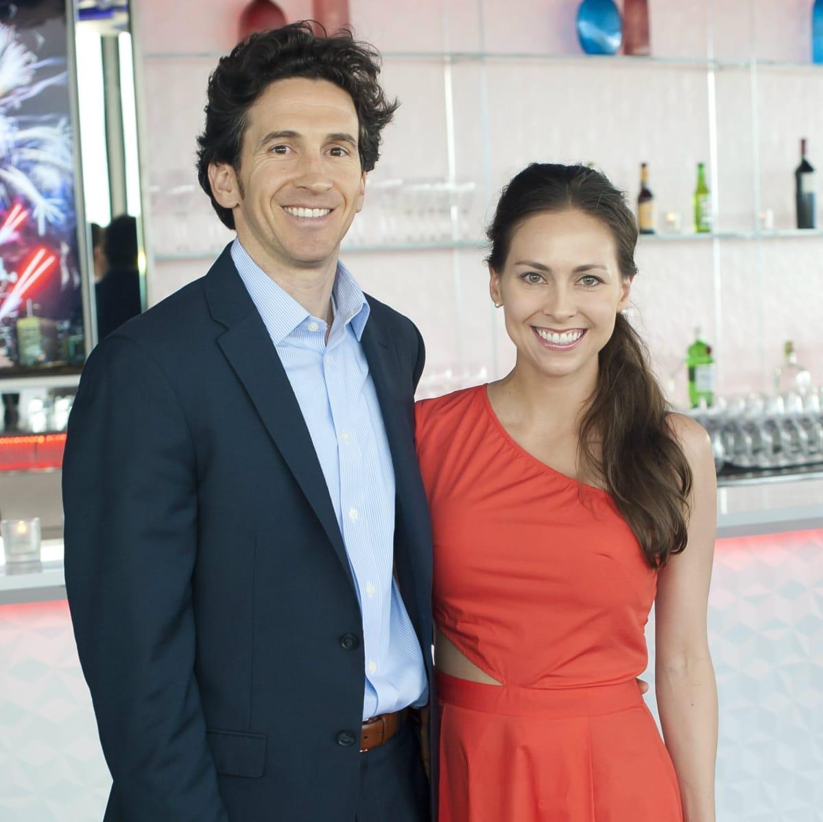 Director's Cut co-chairs Michael Osburn, Rachel Osburn