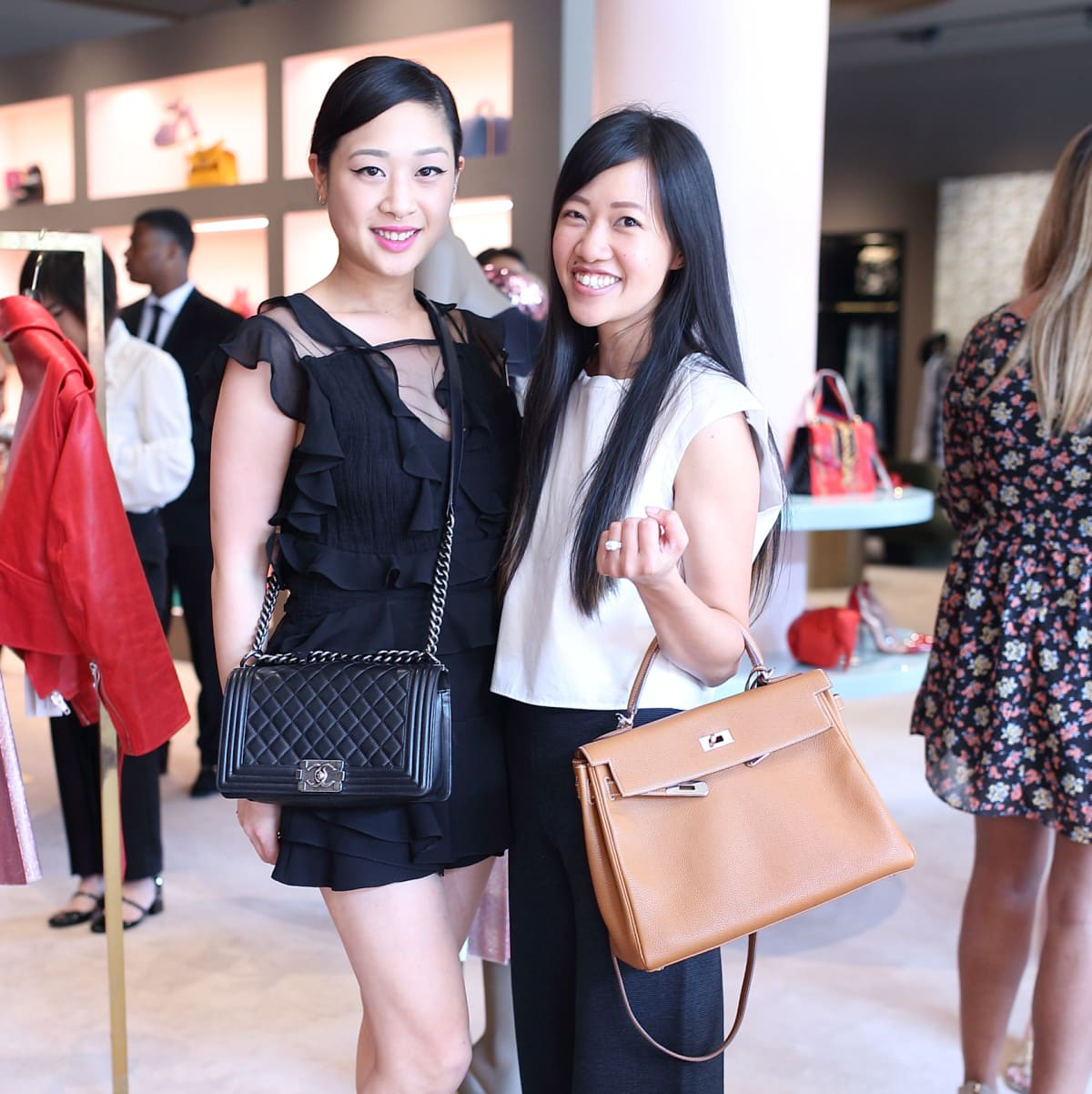 Fifi Phi, Issa Chou at The Webster party