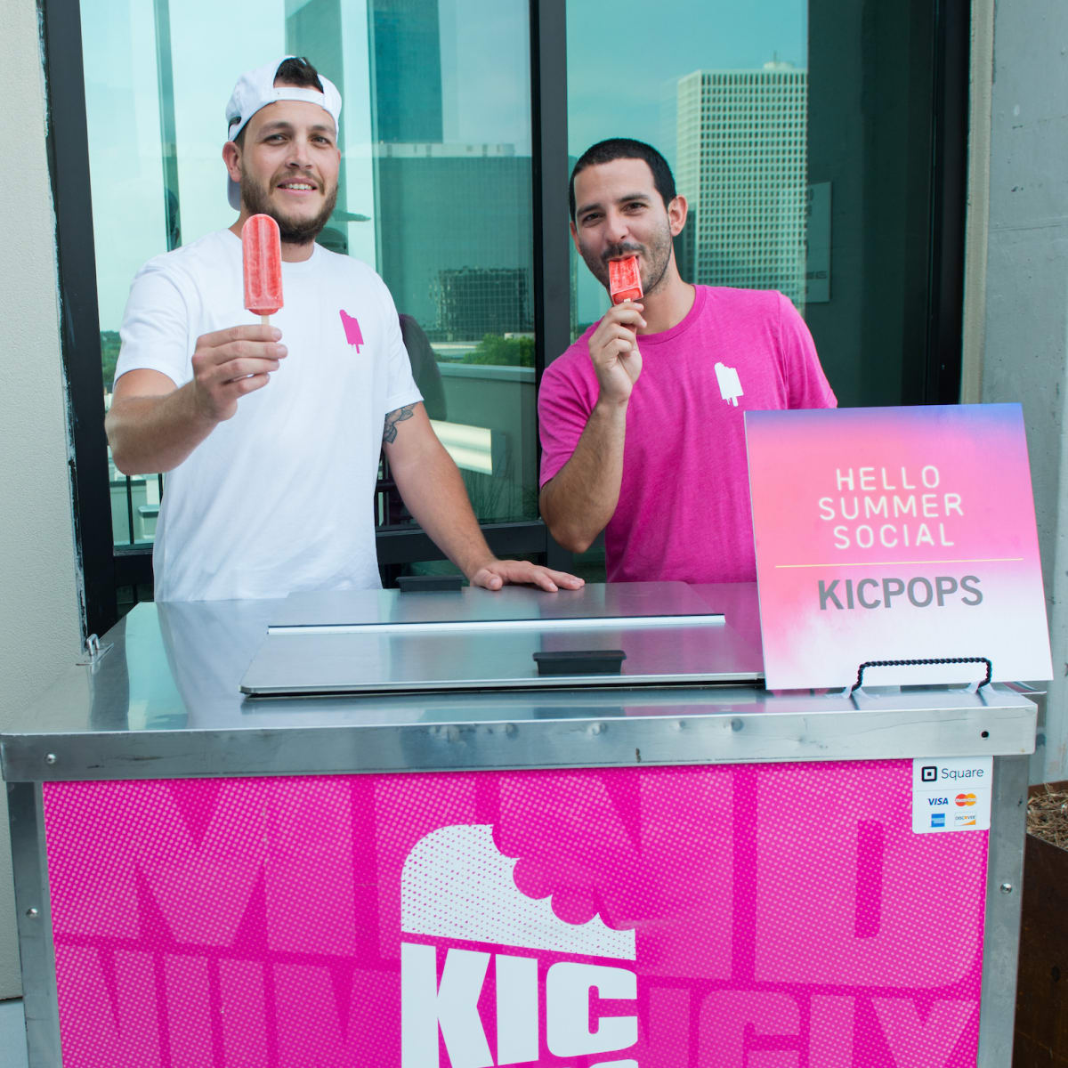 Kicpops at CultureMap Summer Social