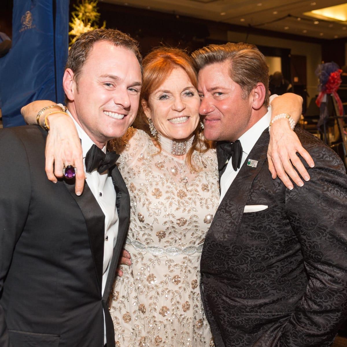 Sarah Duchess of York, Brian Teichman, Unidentified at Virtuosi Gala