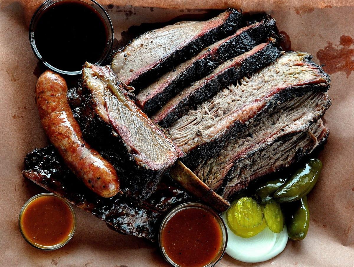 Killen's BBQ barbecue brisket sausage