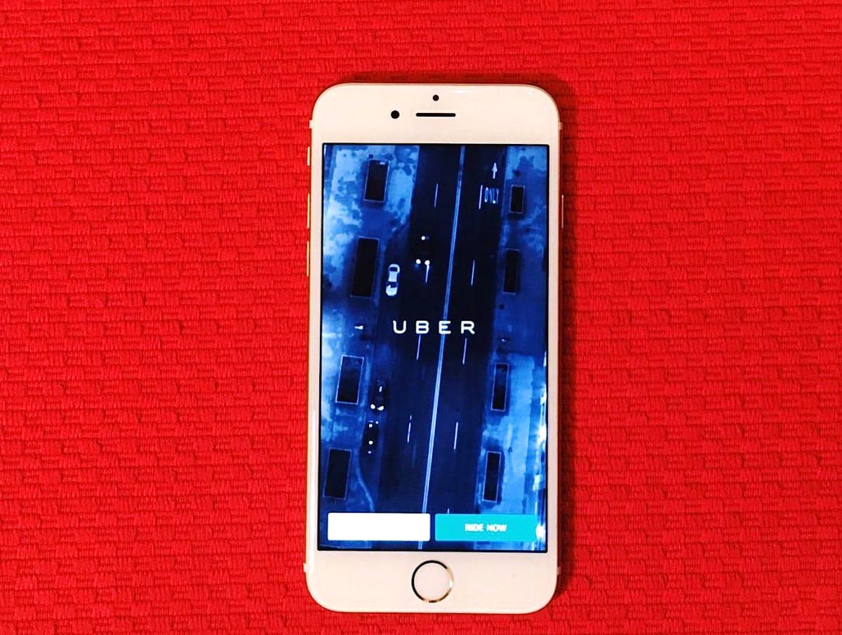 Houston, uber app, june 2017