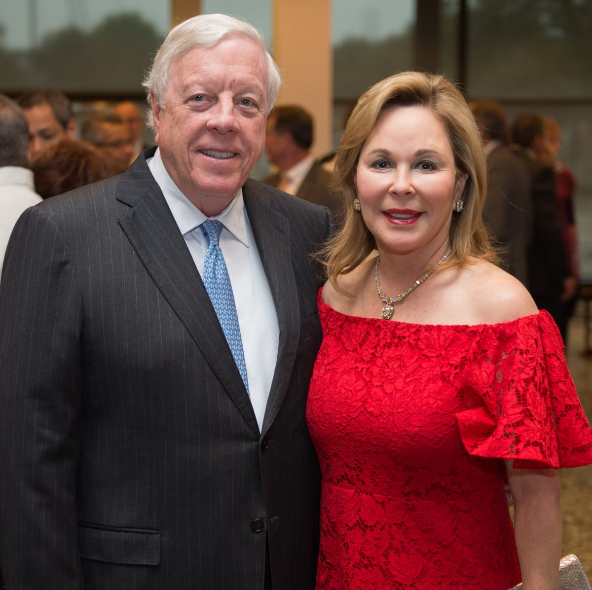 Rich and Nancy Kinder at MFAH Mexican Modernism dinner