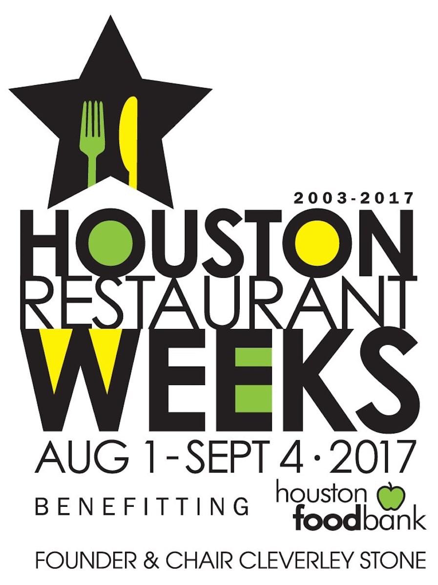 Houston Restaurant Weeks HRW 2017 logo Cleverley Stone