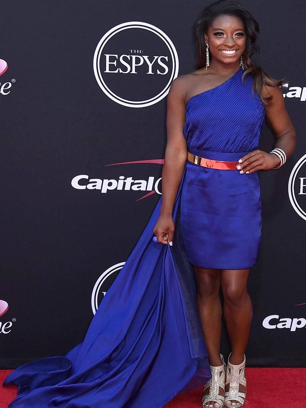 Houston, 2017 ESPY awards, Simone Biles, July 2017