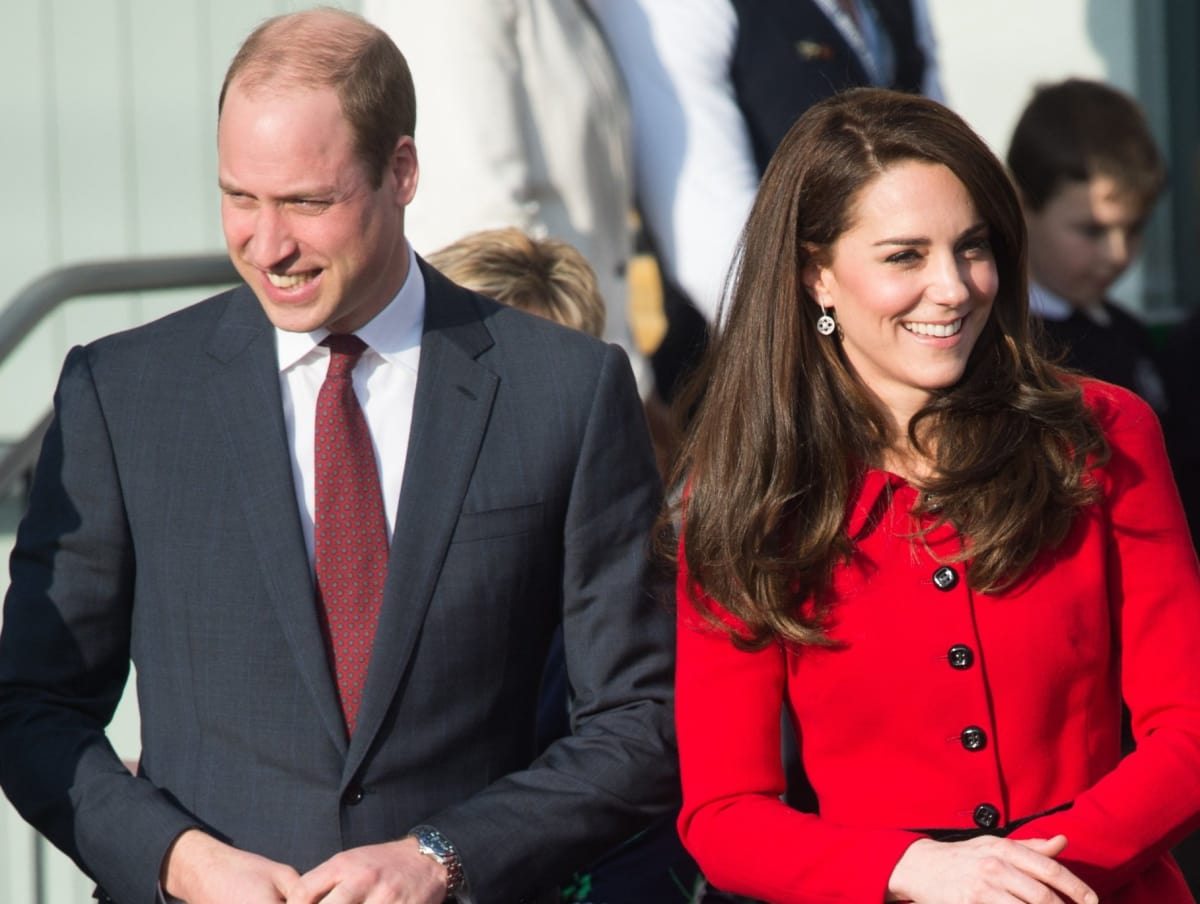 Houston, Prince William and Duchess Kate, July 2017