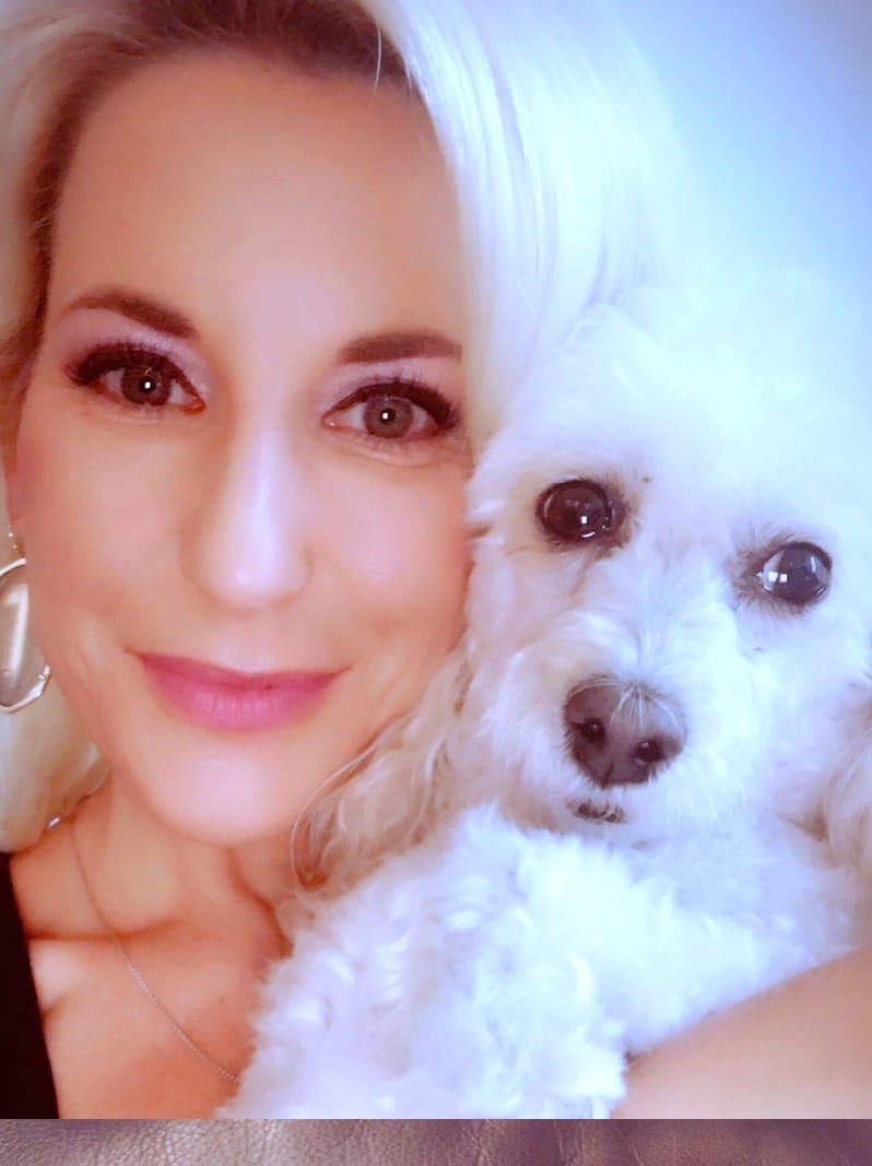 Houston, August 2017, pethouse pet of the week, KAGS-TV anchor Vanessa Croix adopts Sadie