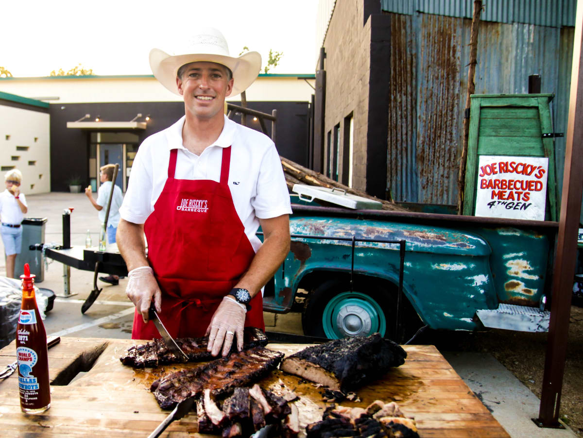 Joe Riscky BBQ pop-up, Fort Worth