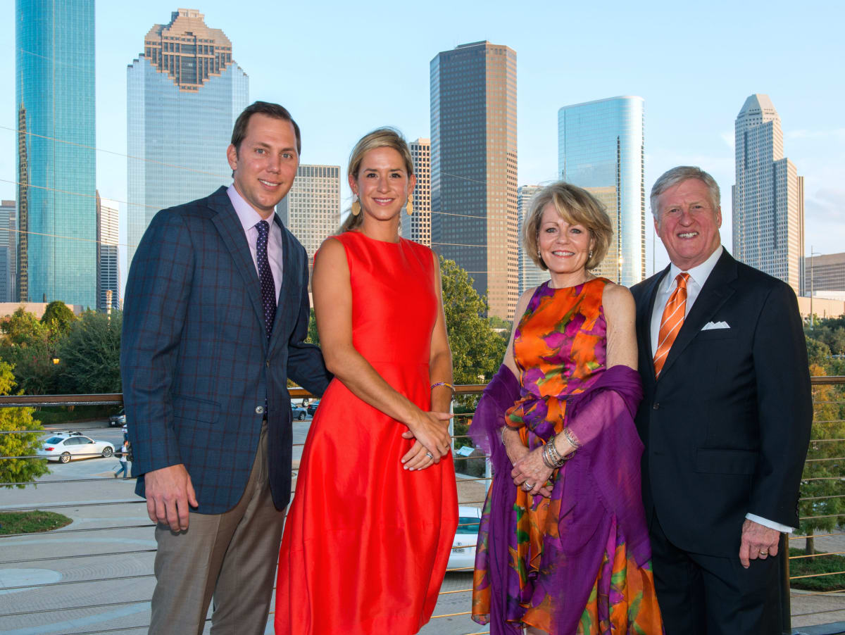 Houston, Buffalo Bayou Partnership Gala, November 2017, Bas Solleveld, Courtney Solleveld, Vivien Caven, Scott Caven