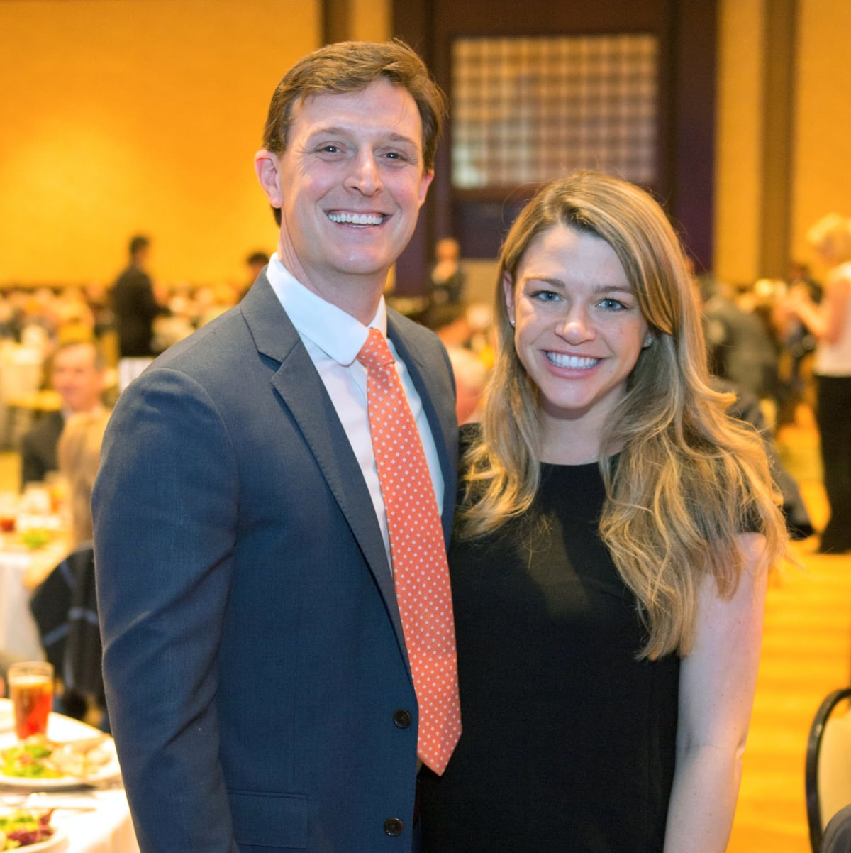 Houston, University of Texas at Austin Guardian of the Human Spirit Award Luncheon, November 2017, Kevin Kushner, Brittany Sakowitz-Kushner