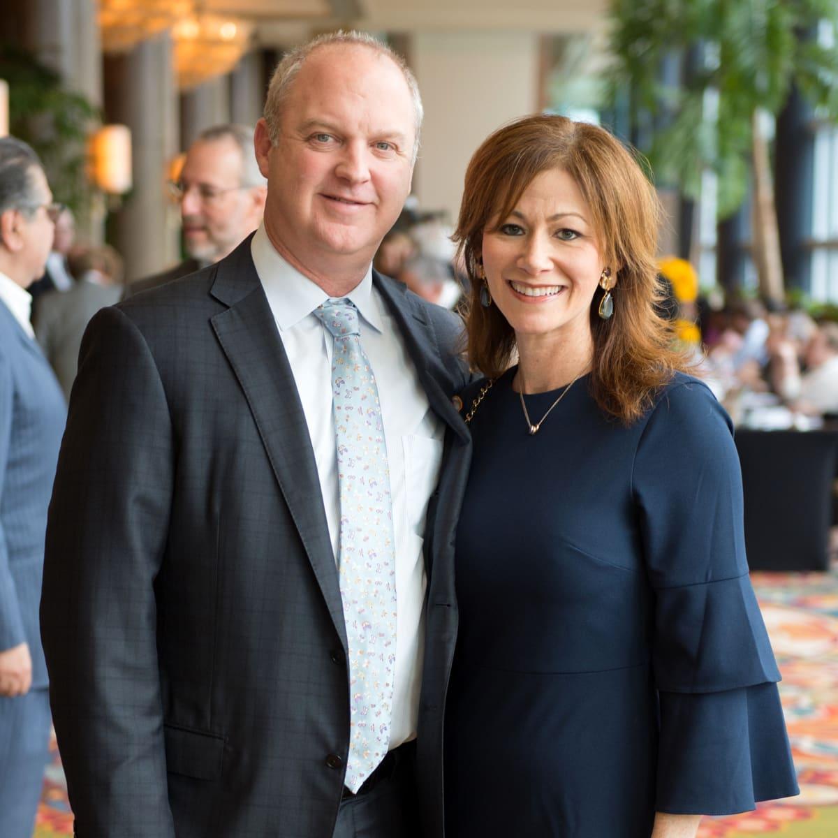 Houston, University of Texas at Austin Guardian of the Human Spirit Award Luncheon, November 2017, Brad Deutser, Jill Deutser