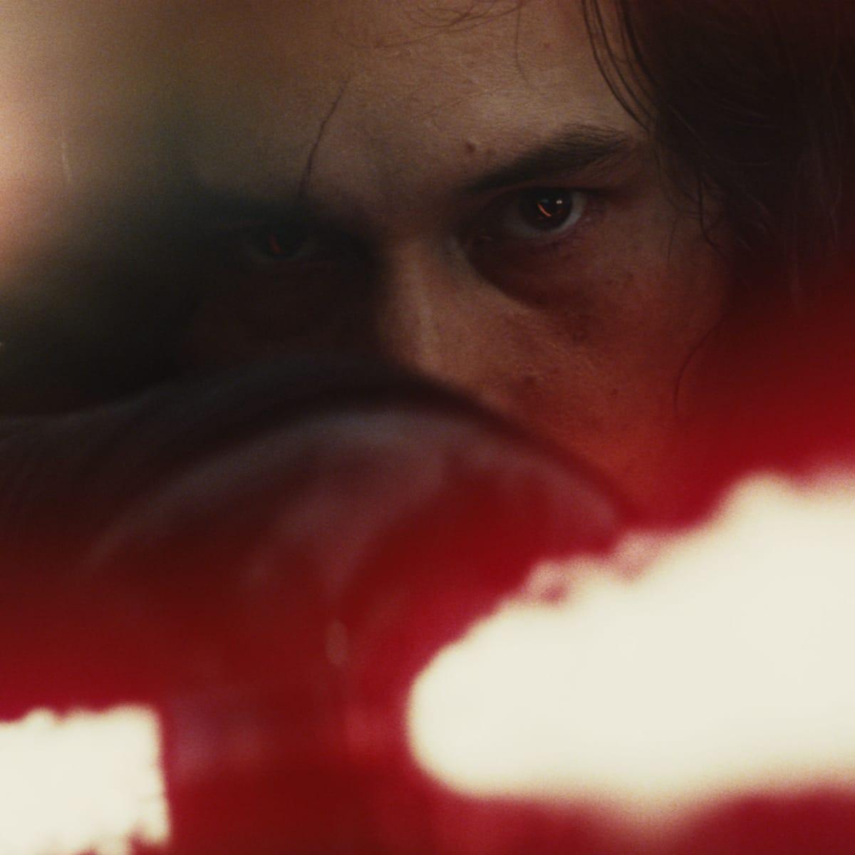 Adam Driver in Star Wars: The Last Jedi
