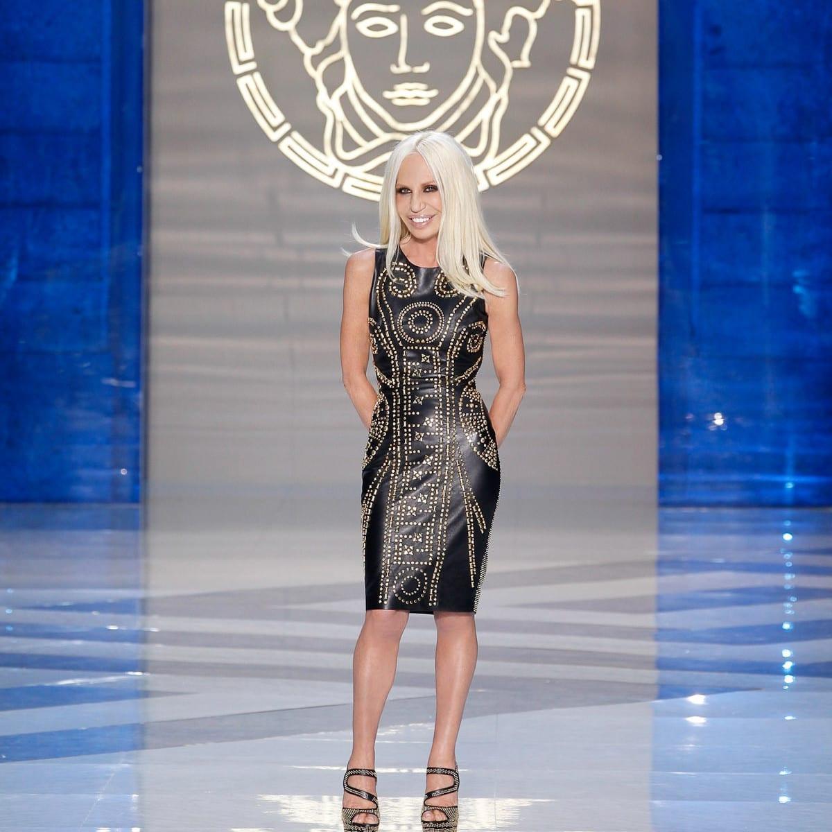 News_Donatella Versace_for H&M