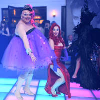 Houston, Hollywood Hollyween Party, Oct. 2016, Rosemarie Johnson, Cindi Rose