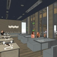 Kuneho restaurant interior rendering November 2016