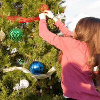 Mobile Loaves and Fishes Community First Christmas tree holidays 2015
