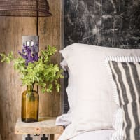Houzz modern rustic bedroom