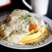 Taste N See chicken waffles