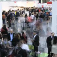 Texas Contemporary Art Fair, crowd, venue