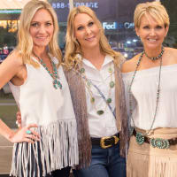 Cattle Baron's Fashion Show, March 2016,  Lynnae Willette, Erin McCarthy