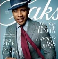 Saks Fifth Avenue fall Magalog back cover