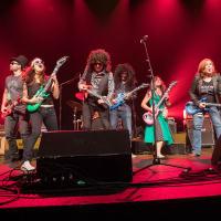 HAAM Corporate Battle of the Bands 2017 Kyle Durand Brigitte Donovan Chris Adams Anthony Hutchins Jen Wheeler Reenie Collins Tomo Berry