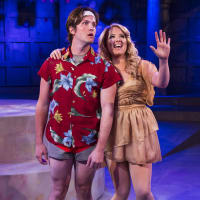 Cameron Bautsch and Holland Vavra in Stages production of Xanadu June 2104