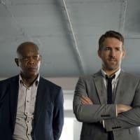 Samuel L. Jackson and Ryan Reynolds in The Hitman's Bodyguard