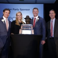 Houston, Bear Bryant Awards, January 2018, John Raymond, Leigh Anne Raymond, Coach Scott Frost, Mark Bryant Tyson