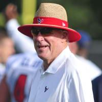 Bob McNair Texans camp