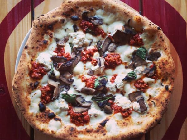 The Bruno pizza at Cane Rosso in Fairview