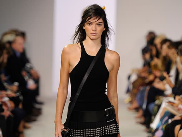 Kendall Jenner in Michael Kors spring collection 2016