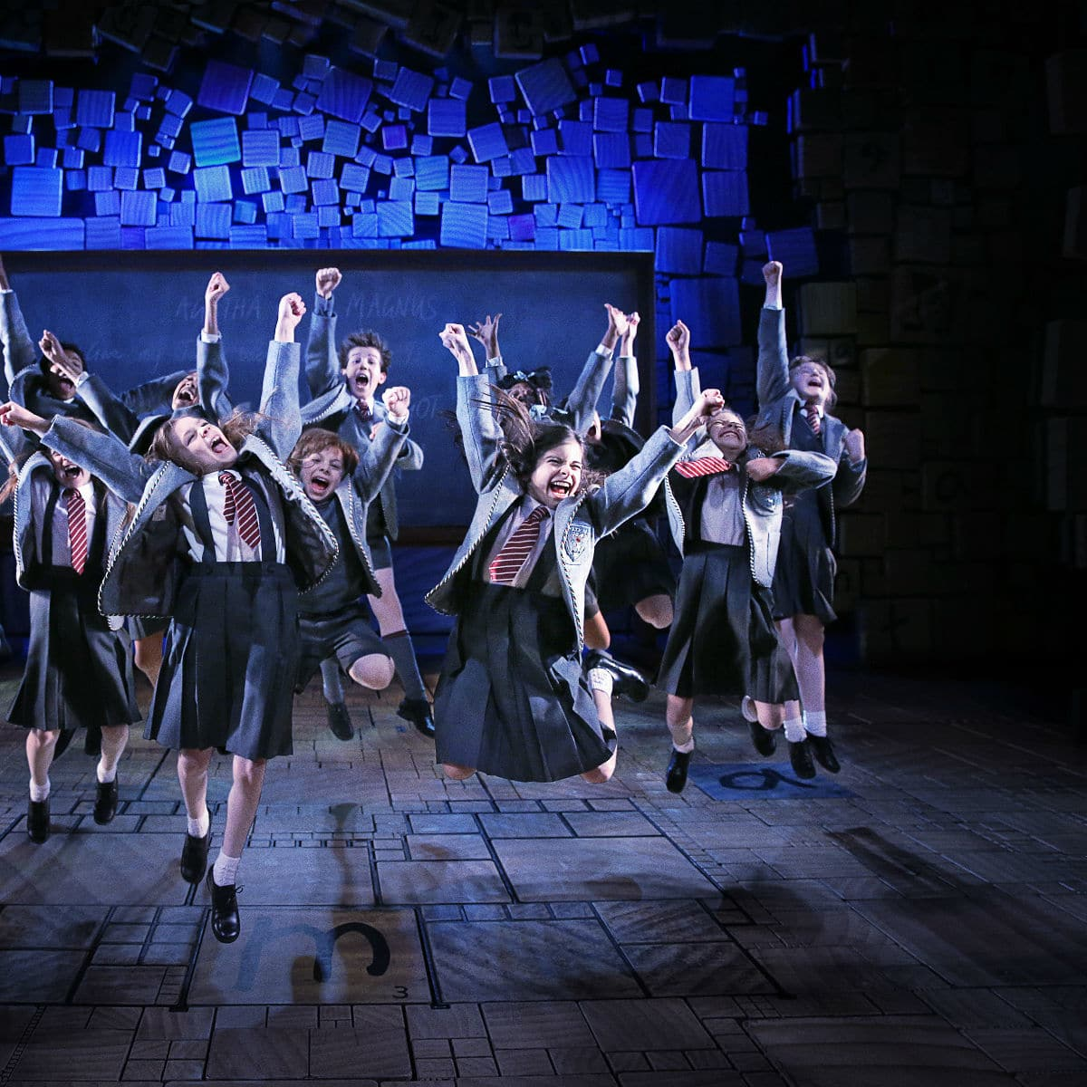 Cast of Matilda the Musical