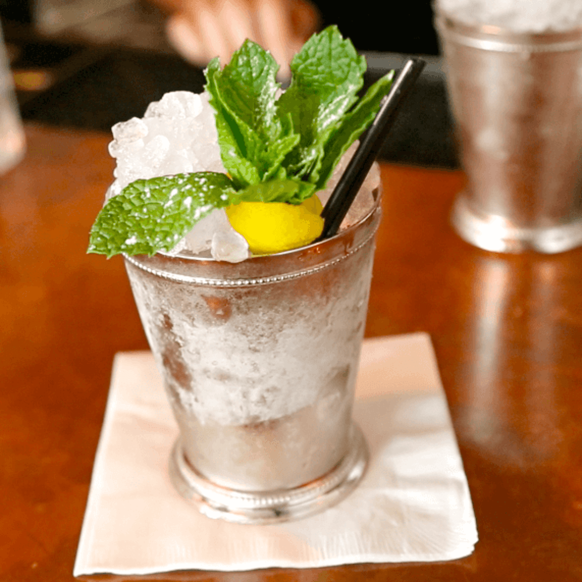 Houston, Julep Bar, July 2015, Mint Julep