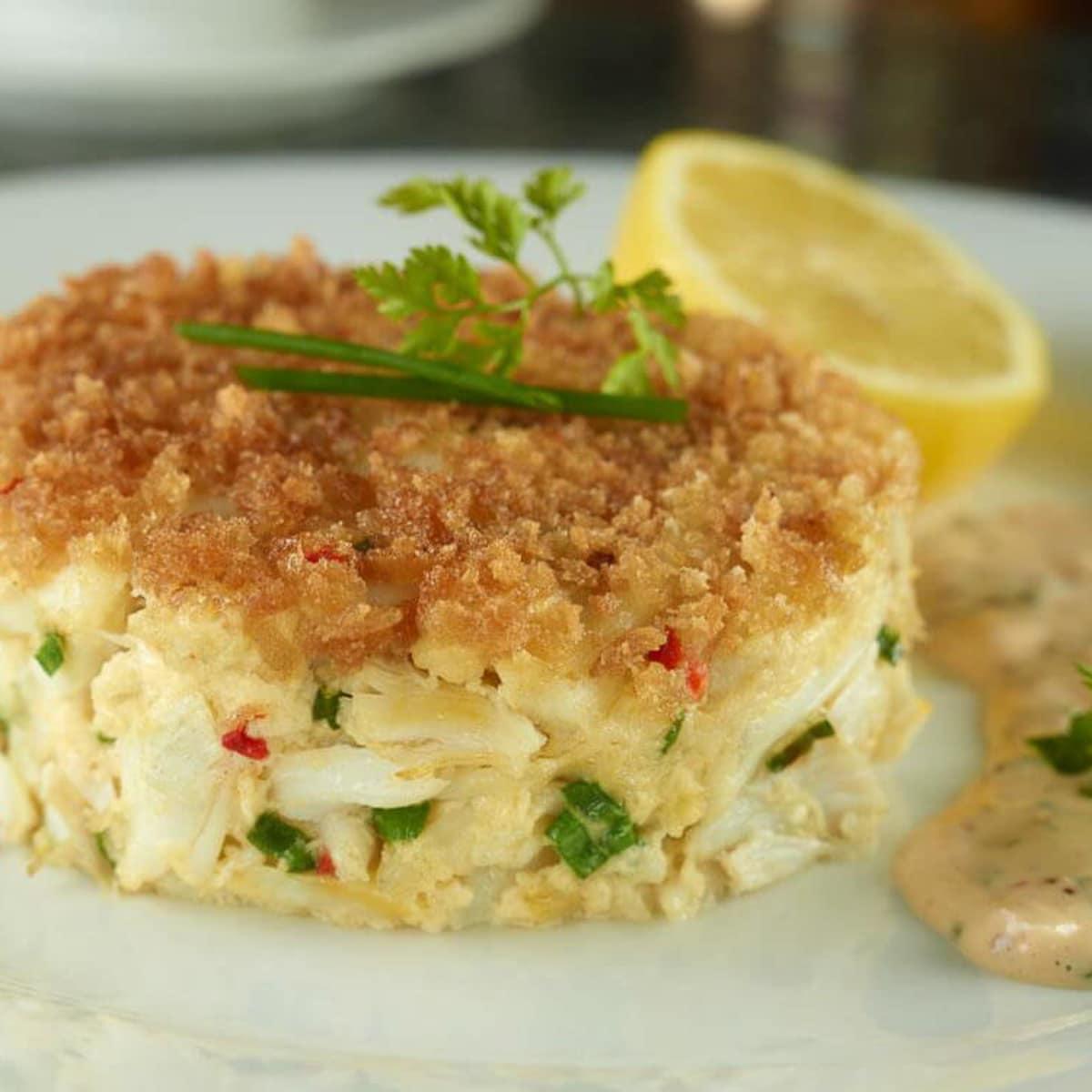 Eddie V's Prime Seafood, crab cake, seafood, January 2013