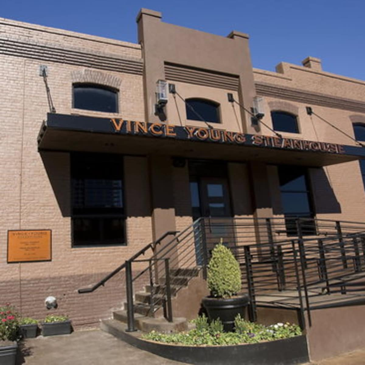 Vince Young Steakhouse in Austin, Texas.