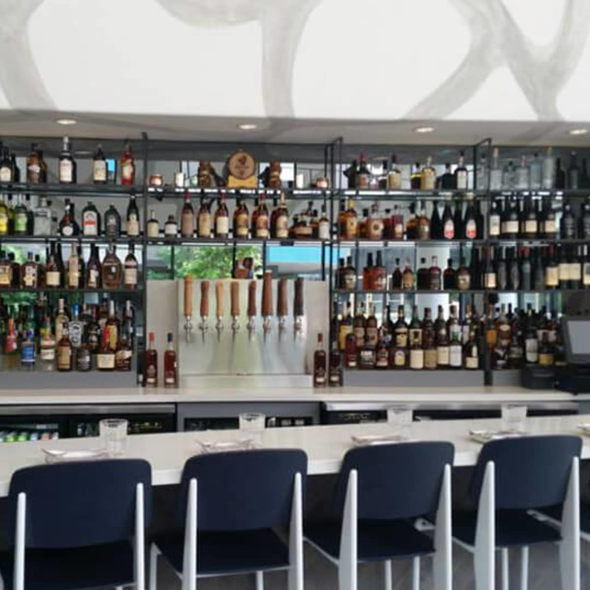 Bar at Vox Table in Lamar Union