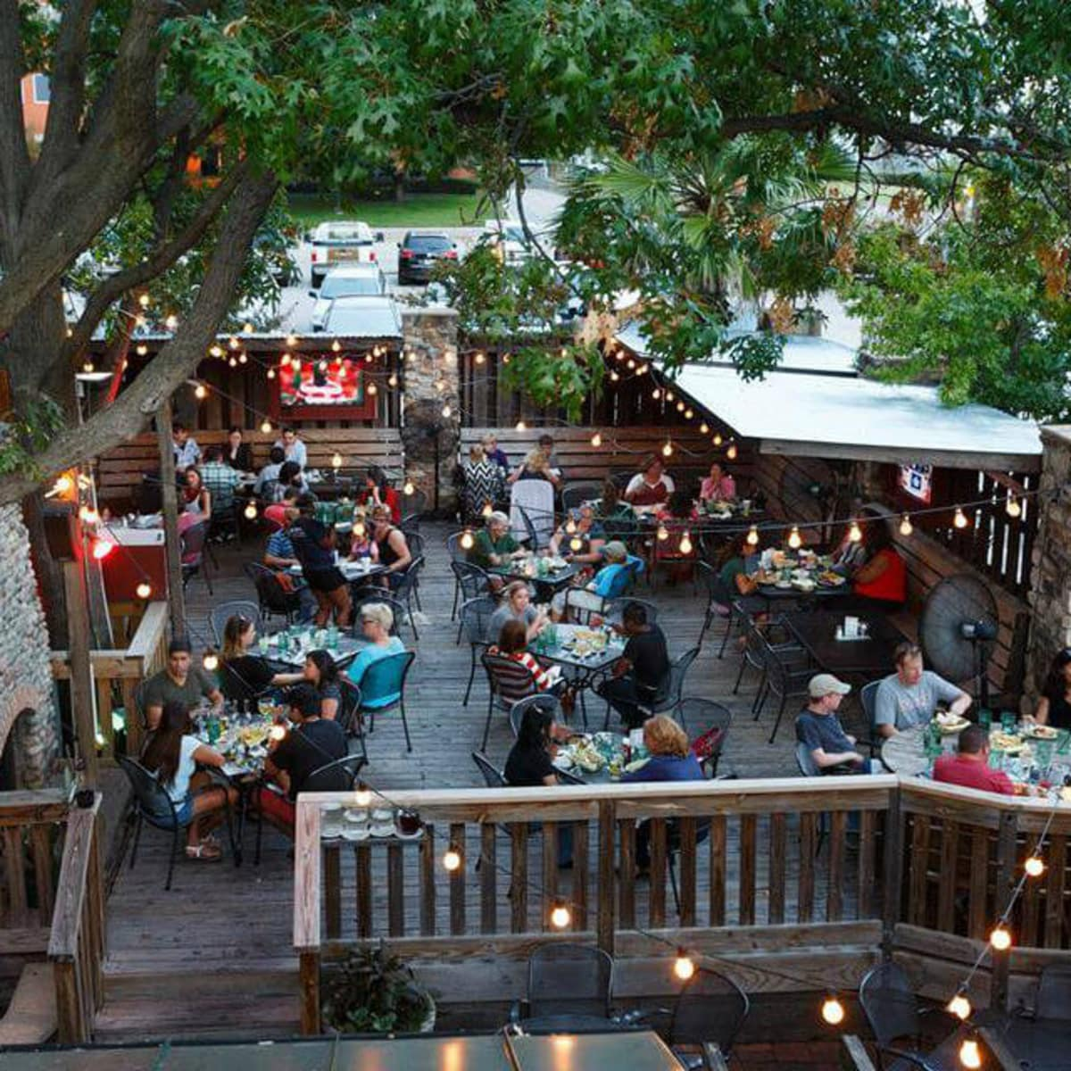 Patio at Ozona Grill & Bar in Dallas