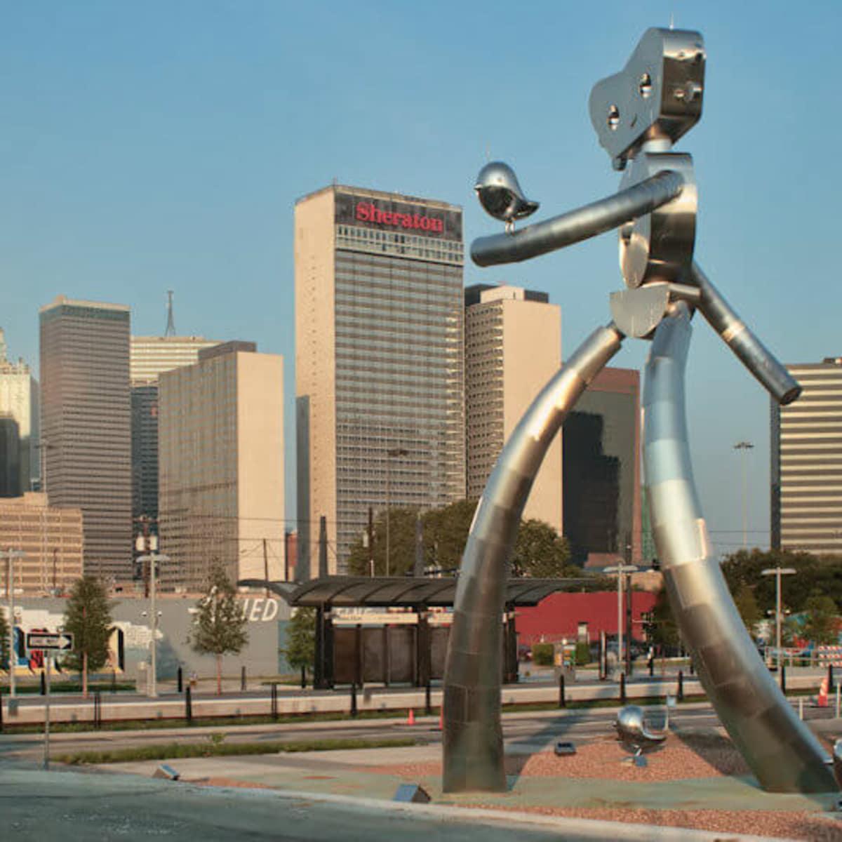 Deep Ellum historic district in Dallas