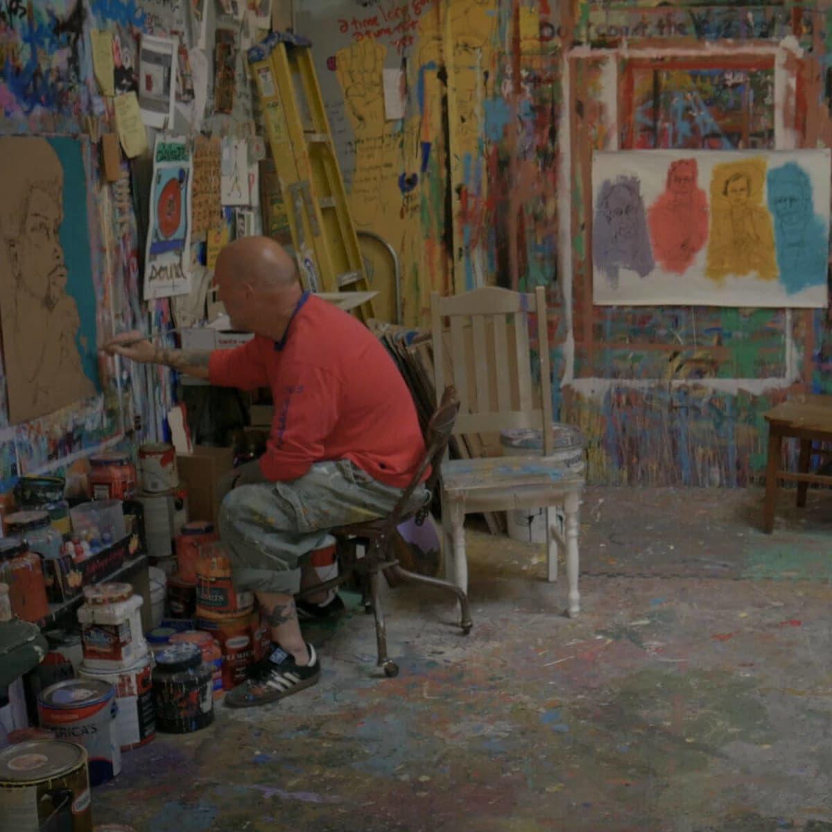 Tim Kerr KLRU Arts in Context