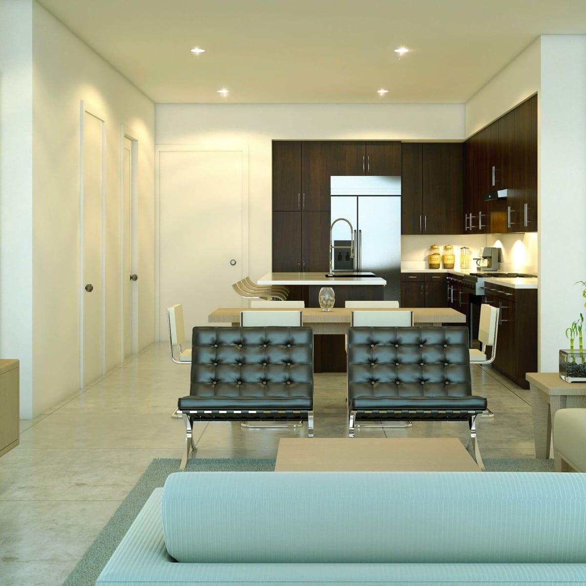Houston, Urban Flats Condos_August 2015, interior 2