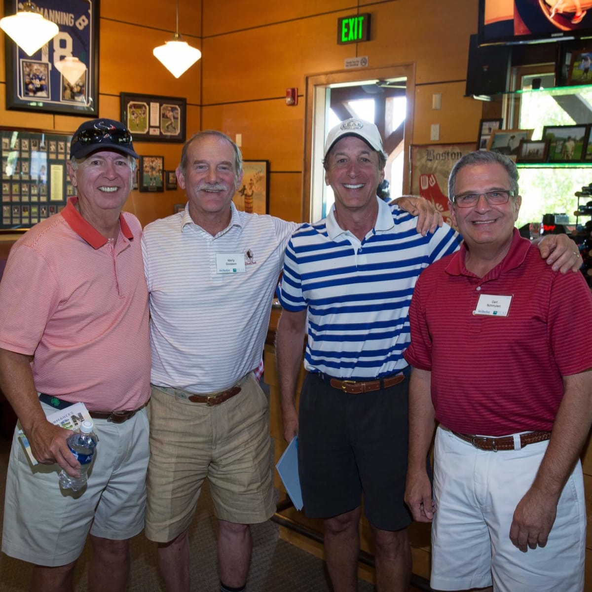 Houston Methodist in Aspen, July 2016, Rod Canion, Marty Goossen, Jack Dinerstein, Carl Schmulen