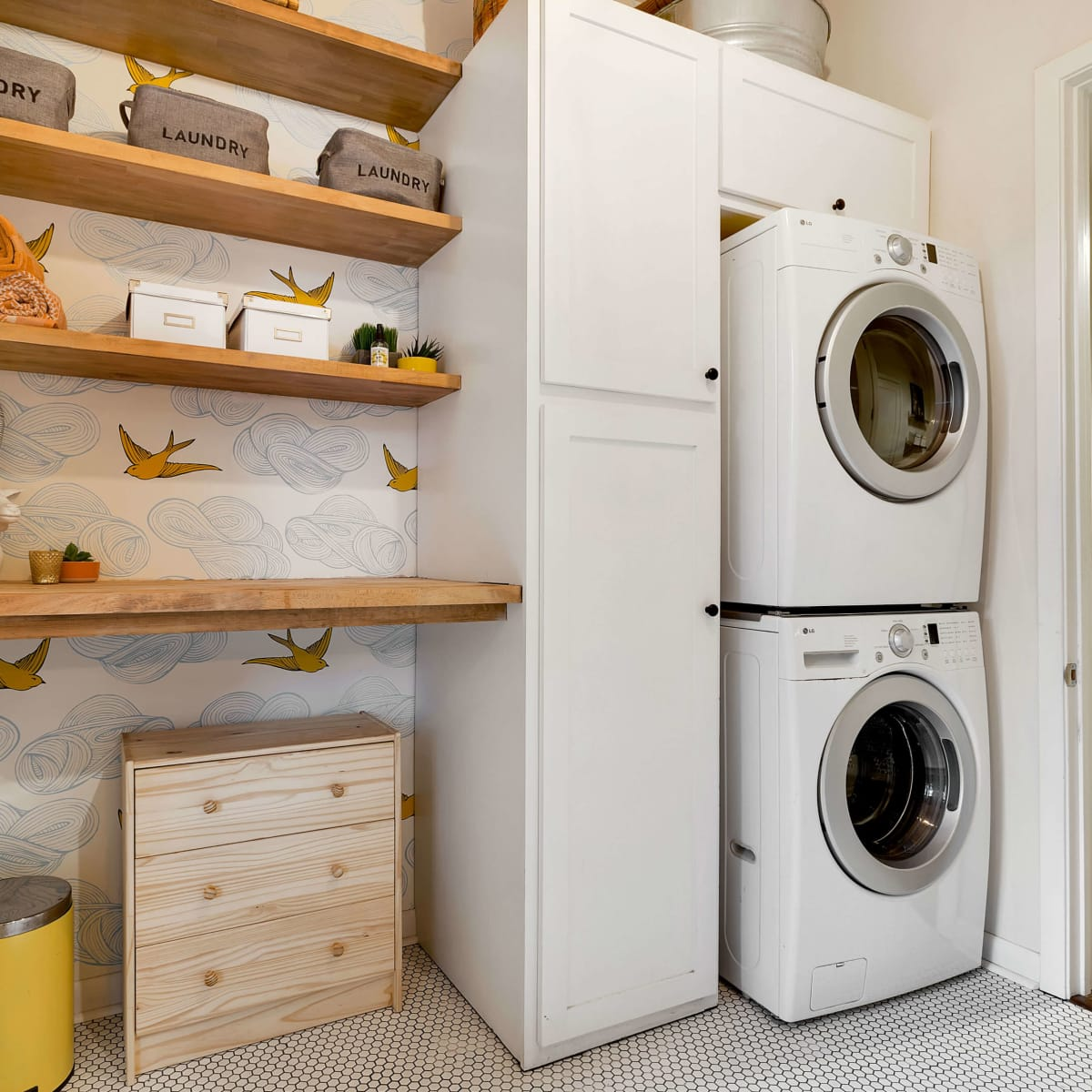 East Austin house home 1131 Poquito Street 78702 laundry bathroom
