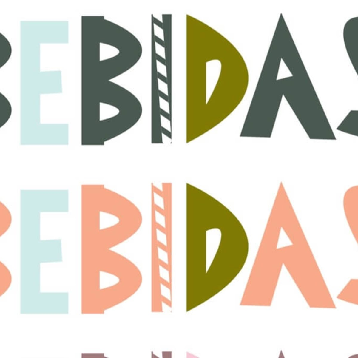 Bebidas juice bar logo